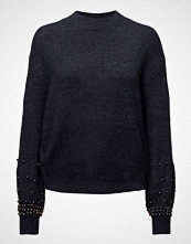 Mango Pearl Embroidery Appliqu Sweater