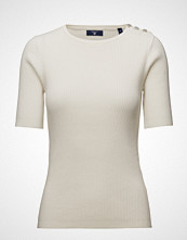 Gant Op2. Ribbed Jumper With Buttons