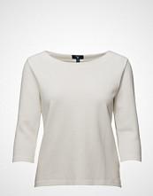 Gant Op2. Solid Pique 3/4 Sleeve Top