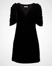 Mango Ruched Velvet Dress