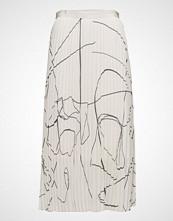 Filippa K Printed Plisse Skirt