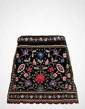 Mango Floral Embroidery Skirt