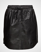 Saint Tropez Leather Skirt