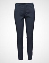 Selected Femme Slfmuse Cropped Mw Pant Noos Bukser Med Rette Ben Blå Selected Femme