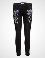 Mango Embroidered Isa Skinny Jeans