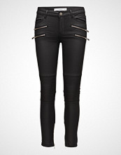 Mango Zipper Biker Trousers