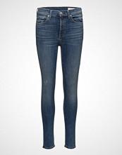 Rag & Bone High Rise Skinny Skinny Jeans Blå RAG & B