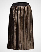 Saint Tropez Plisse Metallic Skirt