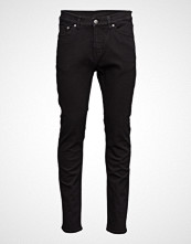 Cheap Monday Sonic Deep Black Slim Jeans Svart CHEAP MONDAY