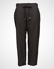 Violeta by Mango Striped Flowy Trousers