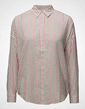 Scotch & Soda Allover Printed Shirt With Dropped Shoulder Langermet Skjorte Rosa SCOTCH & SODA