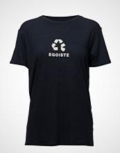 Zoe Karssen Linen-Blend Boyfriend T-Shirt Egoiste