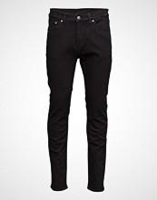 Cheap Monday Sonic Deep Black Slim Jeans Svart CHEAP MONDAY