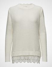 Cream Shawly Pullover