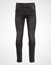 Cheap Monday Tight True Grey Slim Jeans Svart CHEAP MONDAY