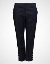 Violeta by Mango Cropped Button Pants