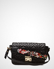 Mango Embroidered Handle Bag