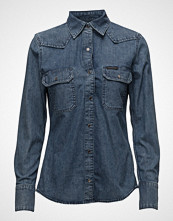 Calvin Klein Western Lean Shirt - Soho Blue