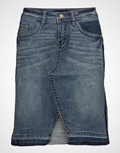 Cream Corin Jeans Skirt