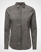 Scotch & Soda Allover Embroidered Shirt