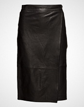 Filippa K Wrap Leather Skirt