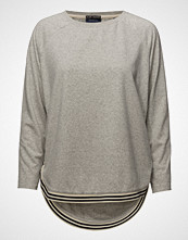Scotch & Soda Loose Fitted Sweat With Contrast Ribbing Detailing