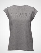 Coster Copenhagen T-Shirt W. Coster Logo T-shirts & Tops Short-sleeved Grå COSTER COPENHAGEN