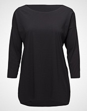 Wolford Pure Cut Pullover T-shirts & Tops Long-sleeved Svart WOLFORD