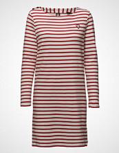 Scotch & Soda Classic Breton Dress With Shoulder Closure