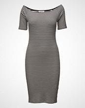 Modström Krown Stripe Off Shoulder Dress