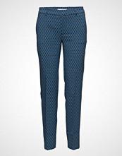 Mango Geometric Print Trousers