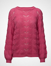 Saint Tropez Knit Blouse With Pointell