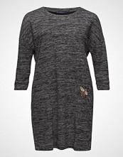 Violeta by Mango Patched Flecked Dress