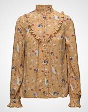 by Ti Mo Bohemian Ruffle Shirt