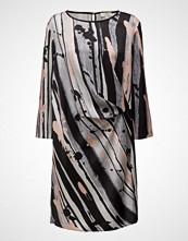 Gant G1. Splash Art Printed Drape Dress