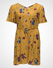 Violeta by Mango Cord Floral Dress
