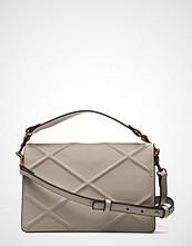 Mango Rhombus Embossed Bag