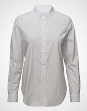 French Connection Southside Loose Cotton Shirt Langermet Skjorte Hvit FRENCH CONNECTION