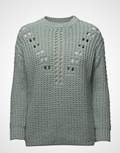 Mango Openwork Knit Sweater