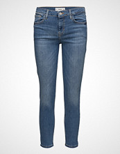 Mango Cropped Skinny Jeans