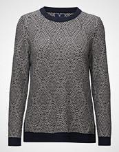 Gant O1. Cotton Wool Argyle Crew