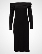 Diana Orving Rib Neck Dress