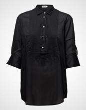 Filippa K Pintuck Tuxedo Shirt Langermet Skjorte Svart FILIPPA K