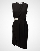 Mango Contrast Waist Dress