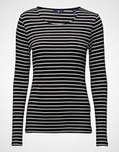 Gant 1x1 Rib Stripe Ls T-Shirt