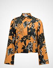 Mango Flowered Printed Crop Shirt