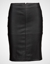 Only Onlticket  Lg Faux Leather Skirt Otw
