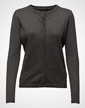 Soft Rebels Zara Cardigan O-Neck Strikkegenser Cardigan Grå Soft Rebels