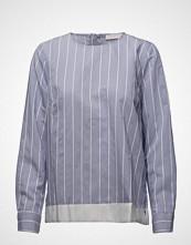 Coster Copenhagen Striped Shirt Blouse W. Ribbon Edge
