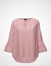 Gant O2. Striped Ruffled Sleeve Blouse